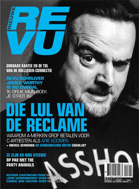 bekende nederlanders - bnq op de cover van de revu